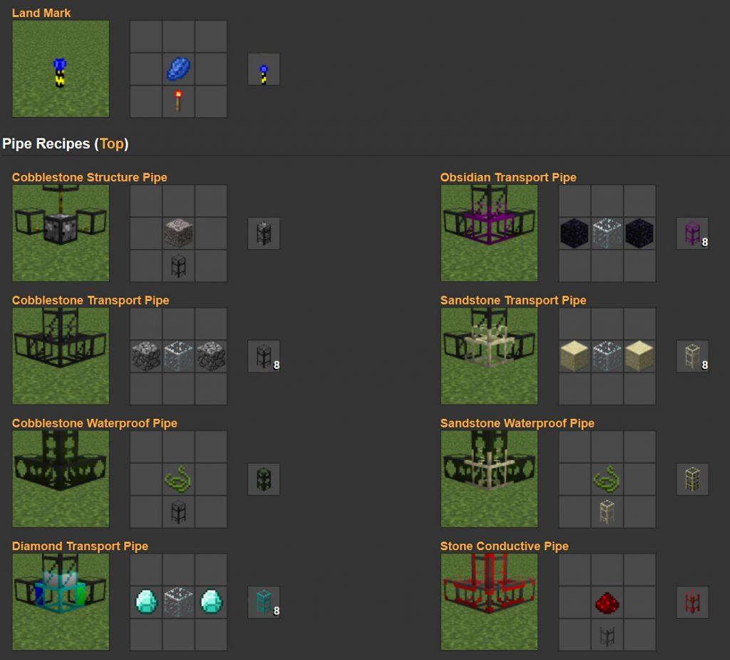 buildcraft рецепты minecraft