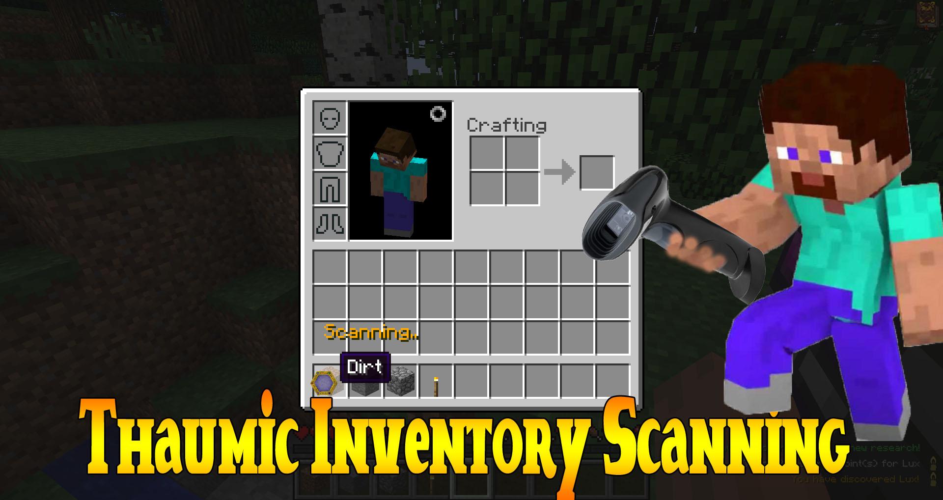 Thaumic Inventory Scanning 1.12.2, 1.11.2, 1.10.2, 1.7.10 / Моды для  Майнкрафт / Mods Minecraft