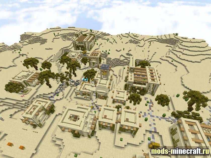 Improved Desert Village Structure 1.14.4 / Дата паки для ...