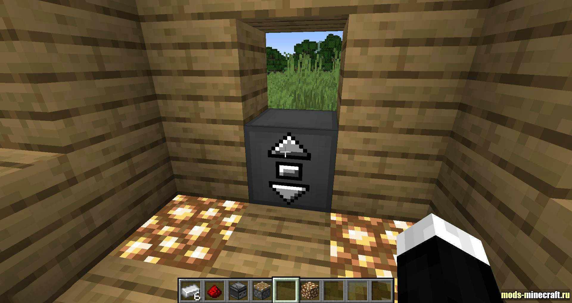 как выглядит лифт в майнкрафте #4