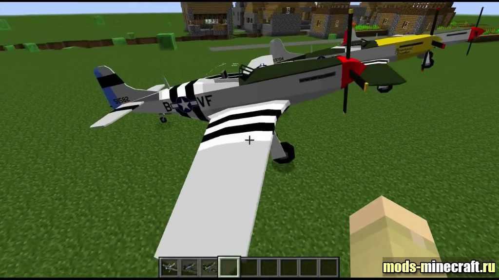 закачать майнкрафт с модами на самолеты #4